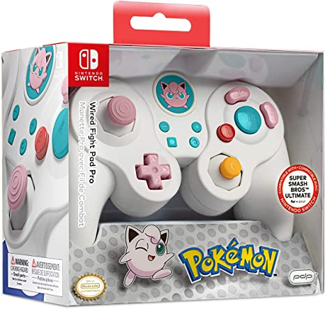 PDP - Mando Pro Fight Pad con Cable Jigglypuff (Nintendo Switch ...