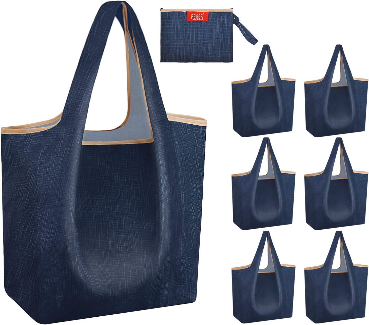 Perfect To Keep In Your Handbag Or Car For That Unexpected Trip To The Shops! Fold Away Shopping Bag With Matching Pouch