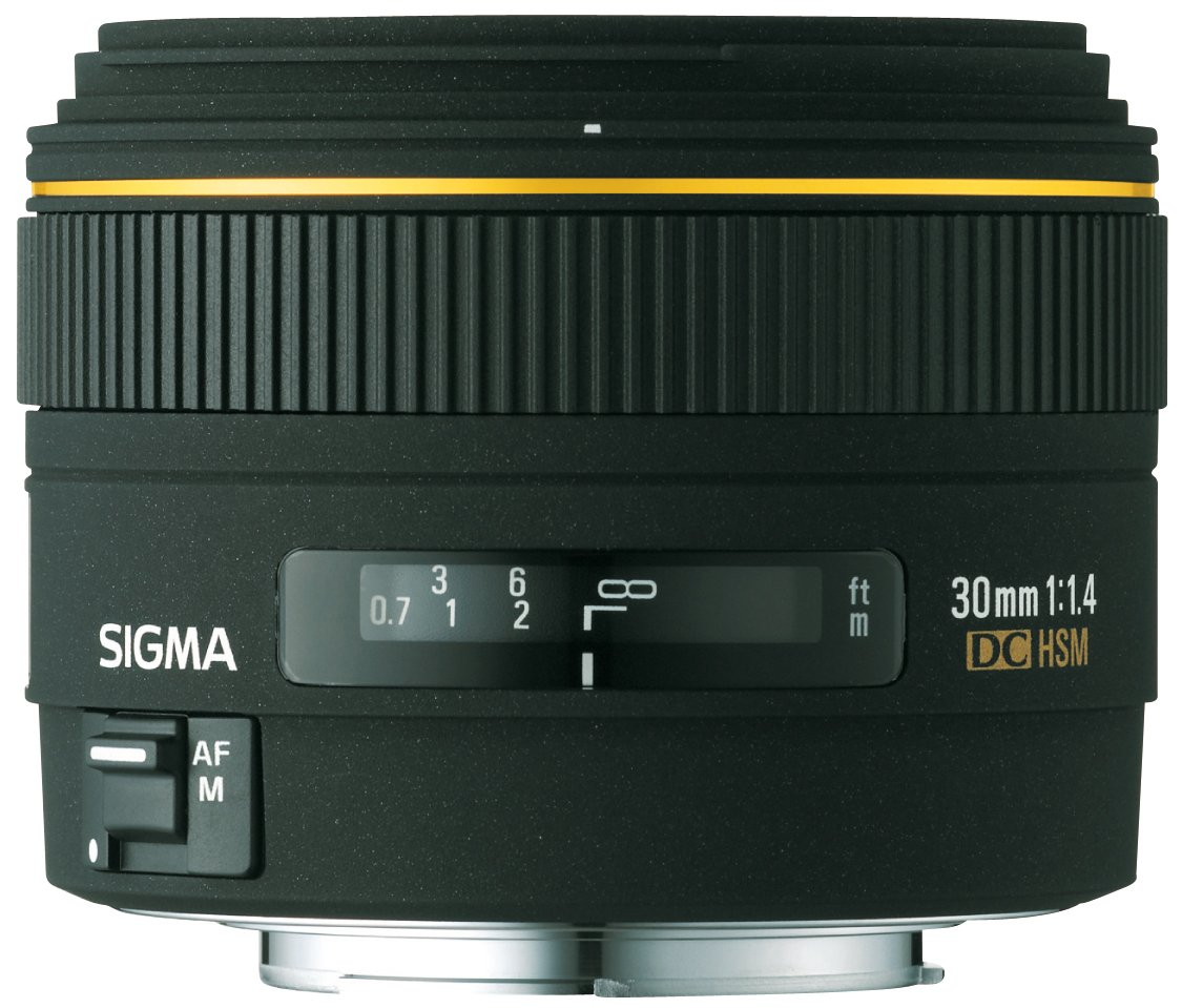 Sigma mm  F  DC EX HSM