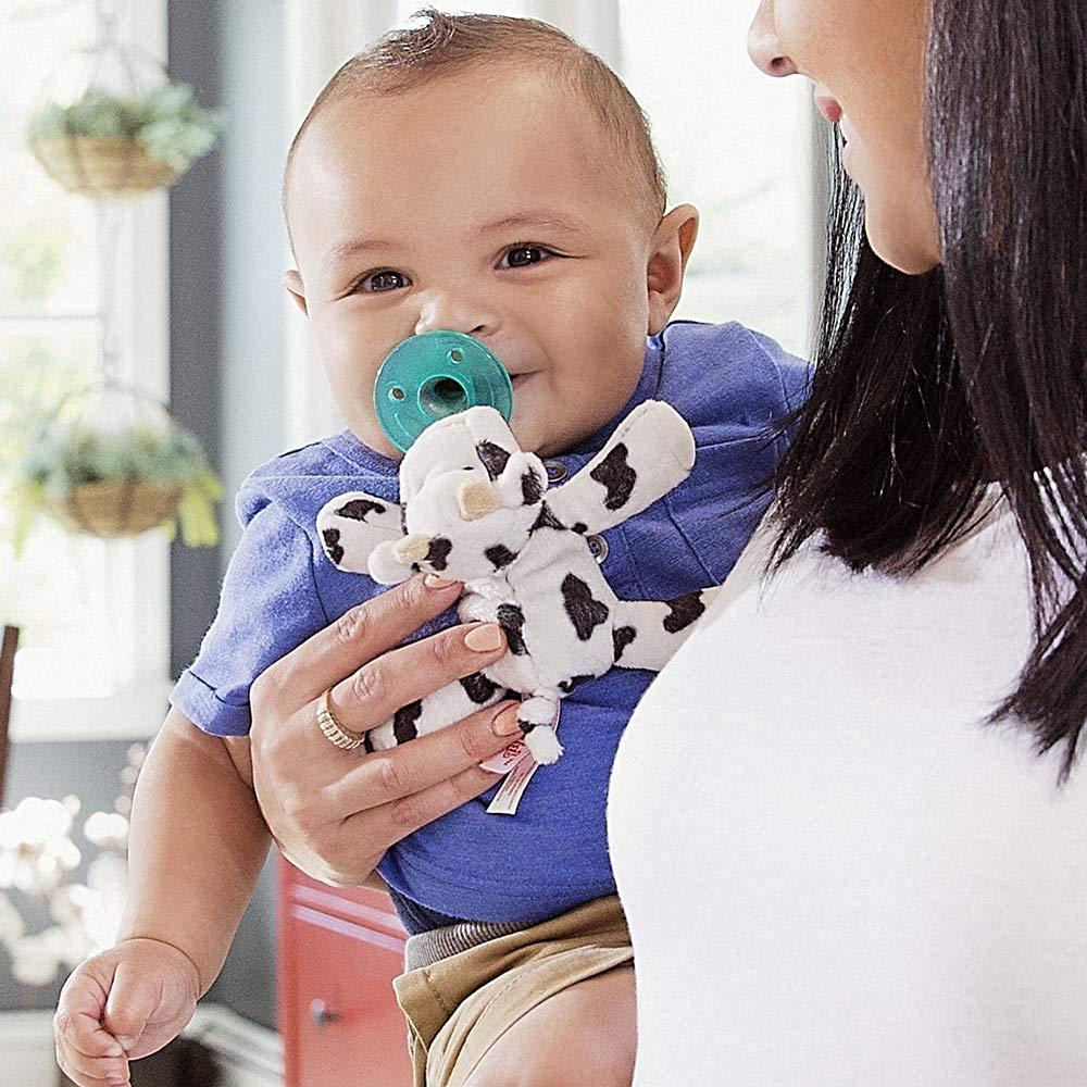 Amazon.com: Wubbanub - Chupete para bebé, diseño de vaca: Baby