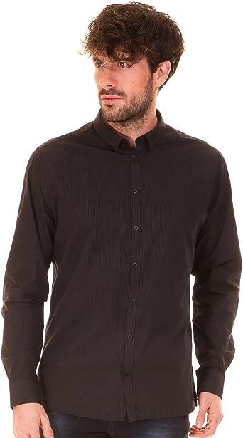 CASUAL FRIDAY Camisa Negra Hombre (XXL - Negro): Amazon.es: Ropa y accesorios