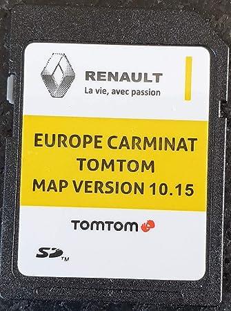 Tarjeta SD GPS Europe 2019-10.15 - Renault Tomtom Carminat: Amazon.es: Electrónica