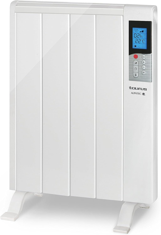 Taurus 935.026 Rabat-Emisor térmico (600 W, 4 Elementos, Temporizador Digital, sin fluidos)