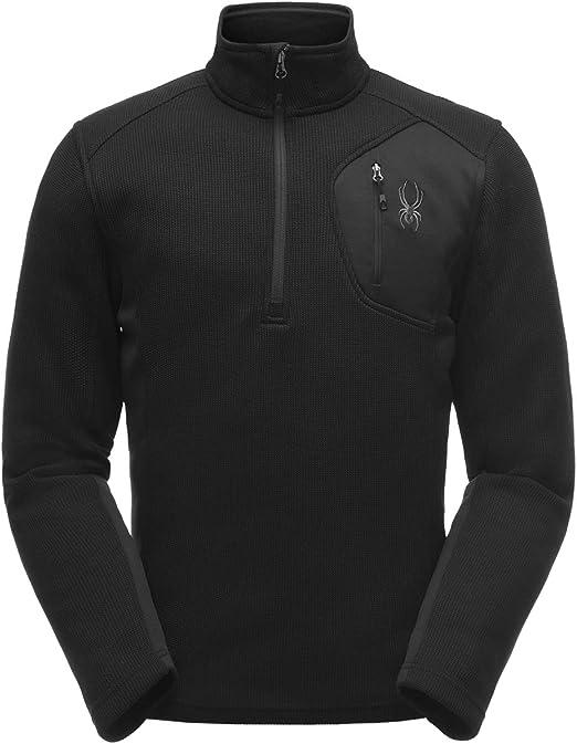 Men/'s Spyder Bandit Half Zip Stryke Jacket