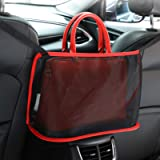 Car Net Pocket Handbag Holder,Seat Back Organizer Mesh,JASSINS Car Storage Netting Pouch,Used to Store Wallets and…