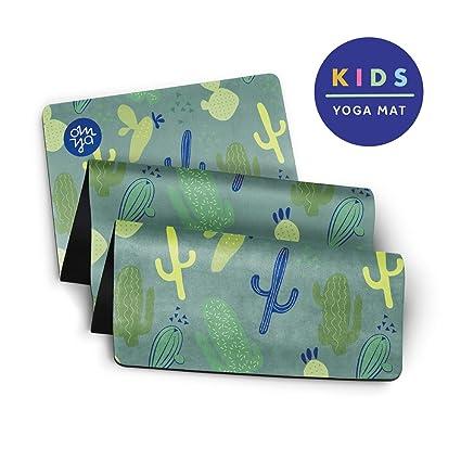 OM YA - Esterilla de Yoga para niños, Antideslizante, 2,0 mm ...