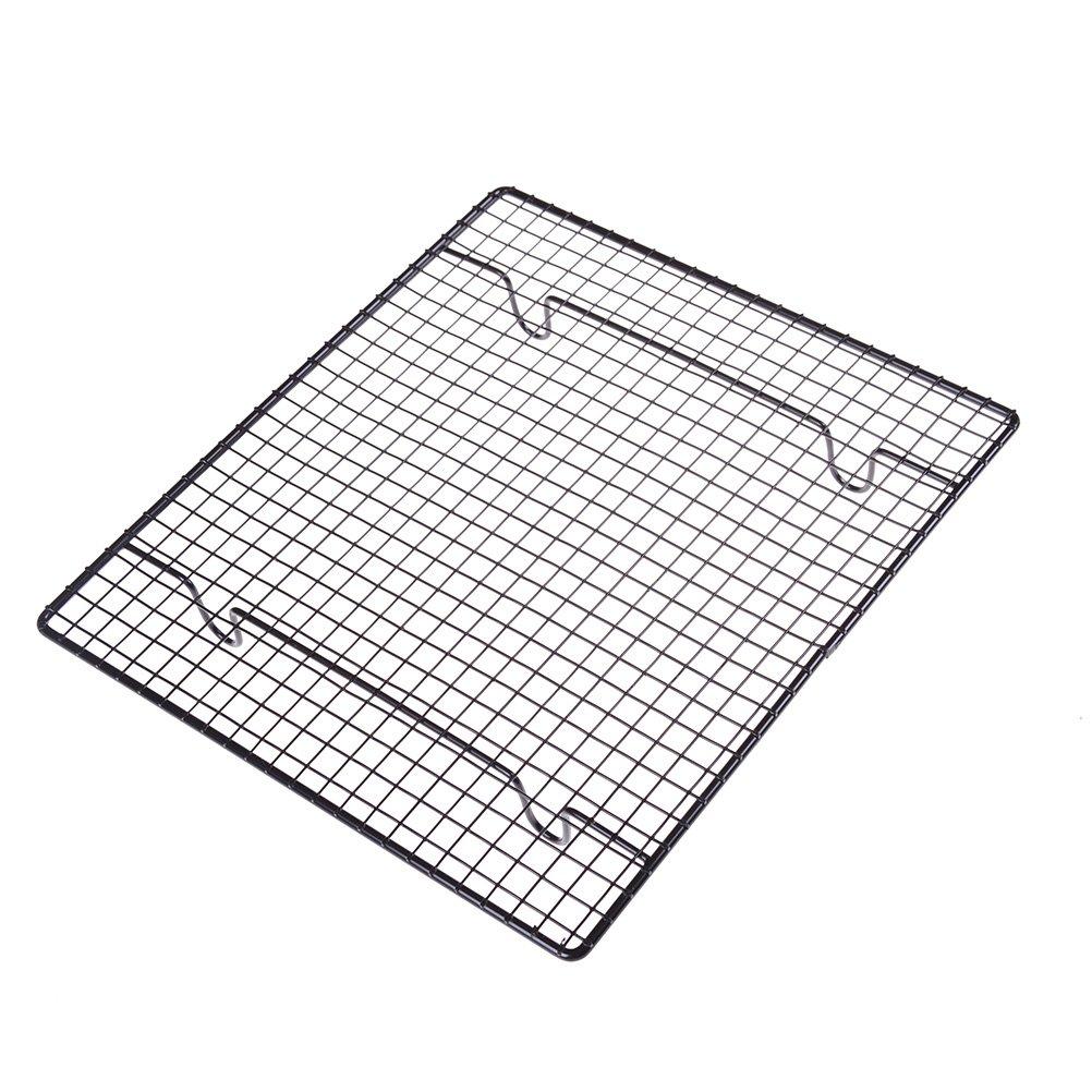 Simday 1PC 25,4x 22,9cm Edelstahl Kühlung Rack, Küche Metall Kuchengitter Simday 1PC 25 4x 22
