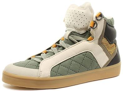 adidas Stella McCartney Discosura Hiker Damen Sneakers, Grün, Größe 37 1/3