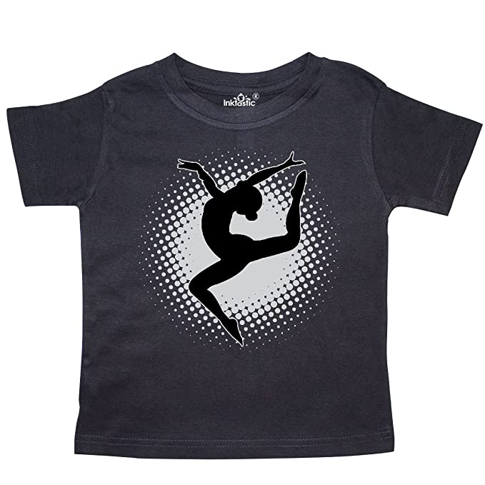 inktastic Ballerina Silhouette Ballet Dancing Baby T-Shirt