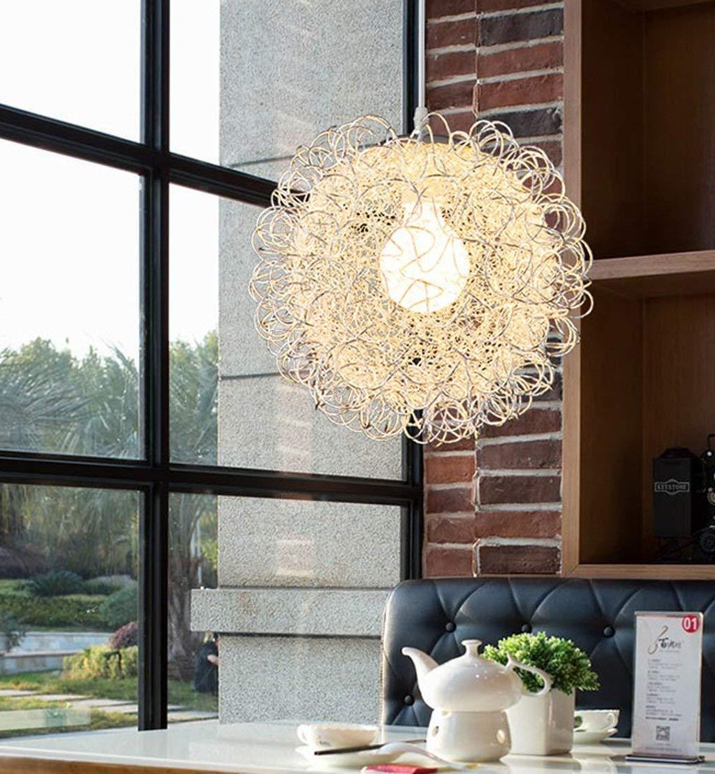 FuweiEncore Einfaches kreatives modernes Zyklus-einzelnes gegenübergestelltes Restaurant die Schlafzimmer-Aluminiumleuchter-Sohn (Farbe   -, Größe   -)