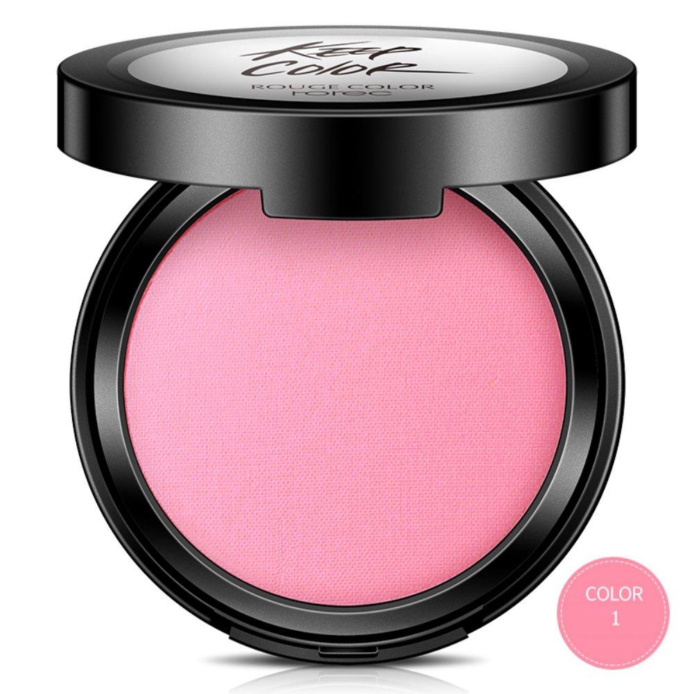 Woya blush poudre fard a joues blush Maquillage Peche Rose Hightlight Contouring
