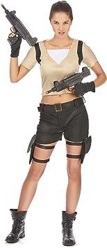 Disfraz de guerrera sexy Única: Amazon.es: Juguetes y juegos