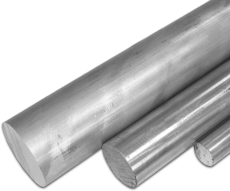 2007 50/cm Longitud Aprox 500/mm +//-5/mm B /& T metal aluminio redondo 50/mm de di/ámetro prensado alcumgpb
