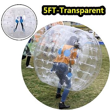 Pelota hinchable de 1,2/1,5 m de diámetro, balón burbuja hinchable ...