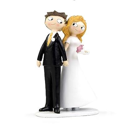 aff7ca5135 Mopec Pop   Fun - Figura para tarta de boda pareja de novios de la mano