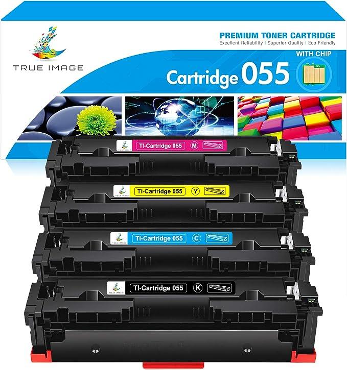 True Image Kompatibel Tonerpatrone Replacement Für No Chip Canon Cartridge 055h 055 055k 055m 055y 055c Toner Für Canon I Sensys Lbp660 Series I Sensys Lbp664cx Lbp663cdw Mf740 Mf741cdw Mf745cdw Bürobedarf Schreibwaren