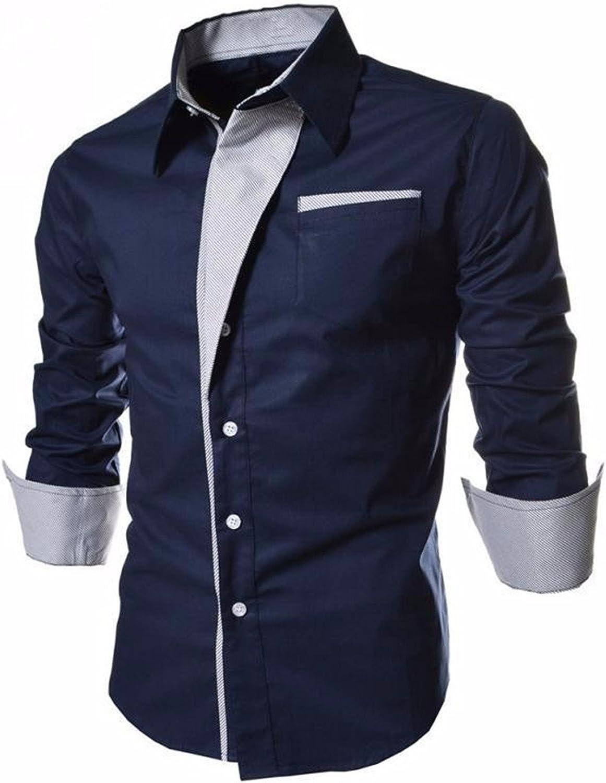 Sonder NEW Hot Sale Men Shirt Fashion Long Sleeve Casual Shirt Slim Fit Male Shirt Men Cotton Tuxedo Mens Shirts
