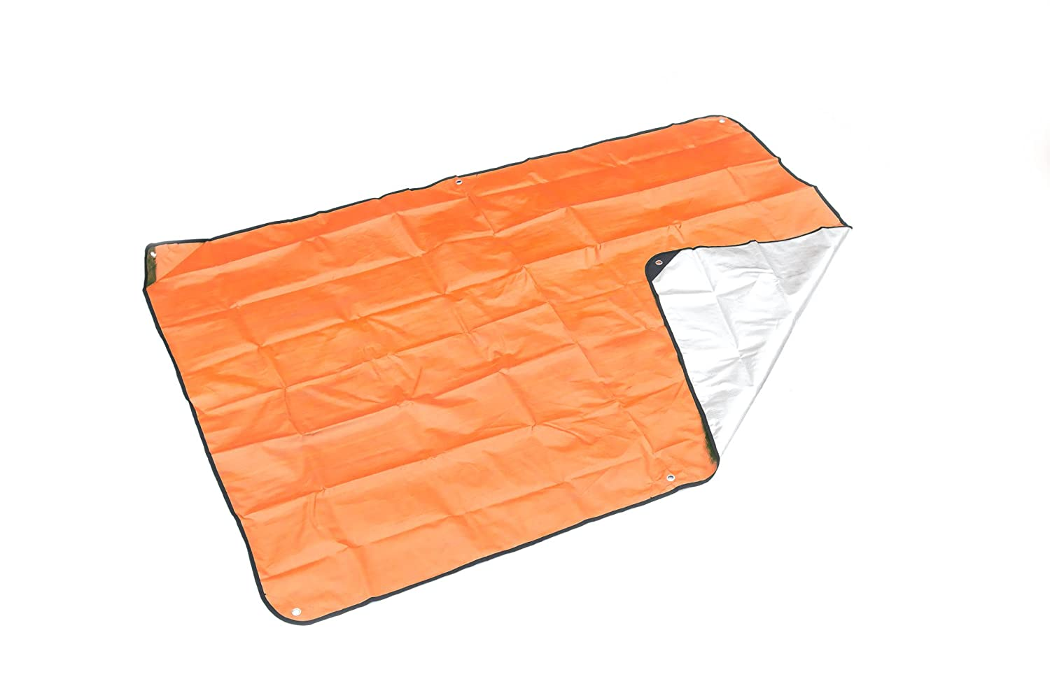 SE EB5982OR Extra Heavy Duty Thermal Reflective Emergency Blanket (Orange) Sona Enterprises