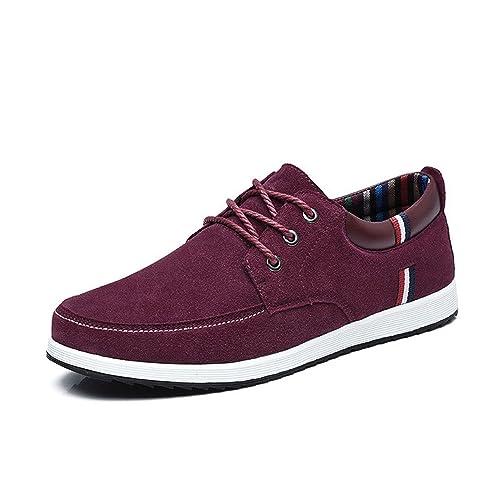 ae2cb353 Botia Mocasines para Hombres Zapatos Casual de Cuero Mocasines Mocasines  Deportivos de Primavera Zapatos Náuticos de Gamuza: Amazon.es: Zapatos y ...