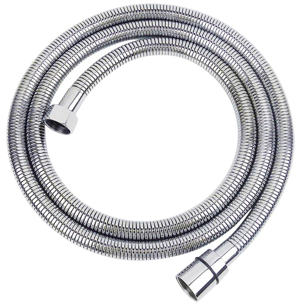mingor acciaio inossidabile Facile Installazione tubo flessibile per doccia bagno tubo dell' acqua di ricambio, in cromo lucidato, connettore in ottone MINGOR SANITARY