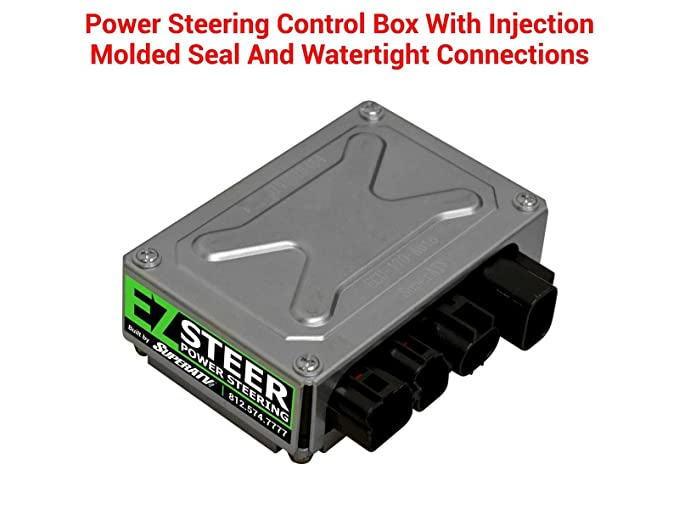 Amazon Superatv Ezsteer Power Steering Kit For Honda Pioneer Rhamazon: Superatv Power Steering Wiring Diagram At Gmaili.net