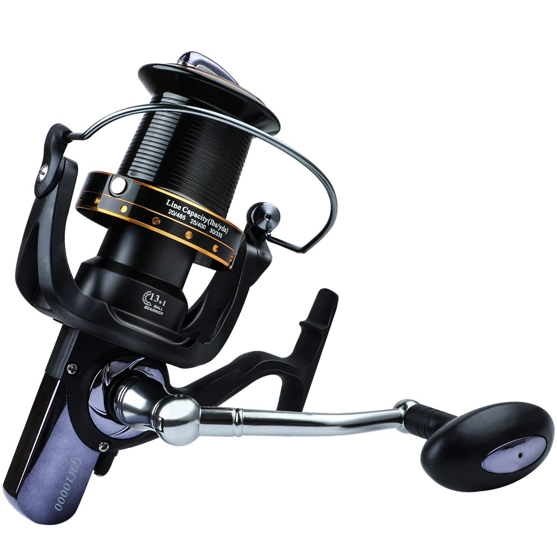 YONGZHI Fishing Reels 9000 10000 11000 Series Surf Fishing Reel 13 1 Stainless BB Ultra Smooth Powerful Fishing Spinning Reels for Saltwater Freshwater.