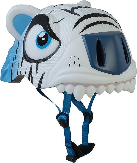 Abus Ice The Cool Tiger Casco, Infantil, Blanco (Blanc/Bleu), 49-55 cm: Amazon.es: Deportes y aire libre