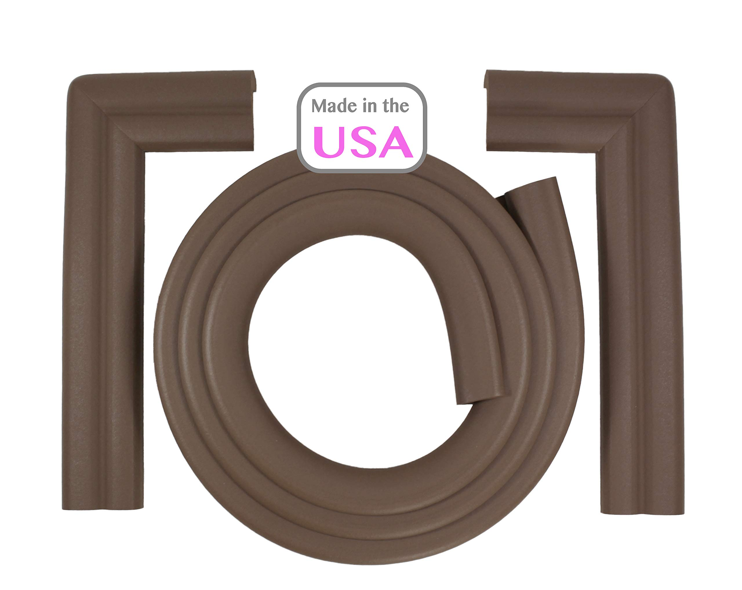 OOPSY Child Safety Hearth Guard Cushion, Brown