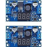 D-PLANET [2-Pack] LM2596s Buck Converter DC to DC Step-Down Voltage Regulator Power Module 36V 24V 12V to 5V 2A Voltage Stabi