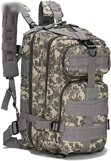 """Camouflage /""""digital/"""" Military Style 25L Backpack"""