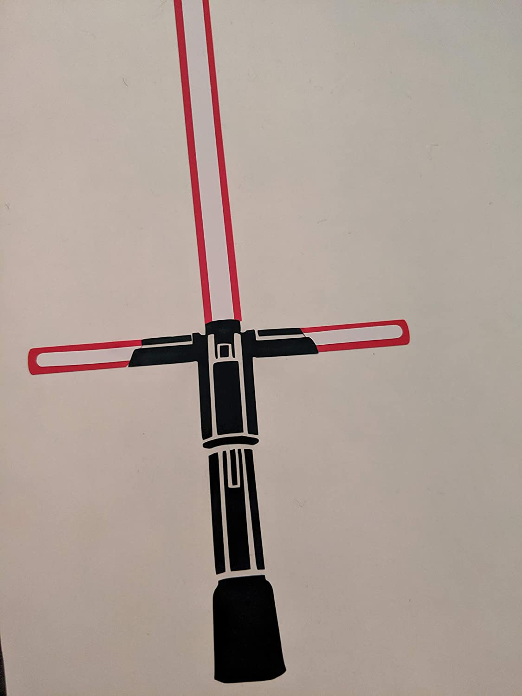 Kylo Ren Lightsaber Decal - Star Wars - Sith - Vinyl Laptop Car Sticker …