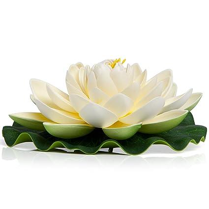 BEST FLOATING FLOWERS SET Of 6 For Weddings   Pool Decor   Holidays    Wedding Decorations