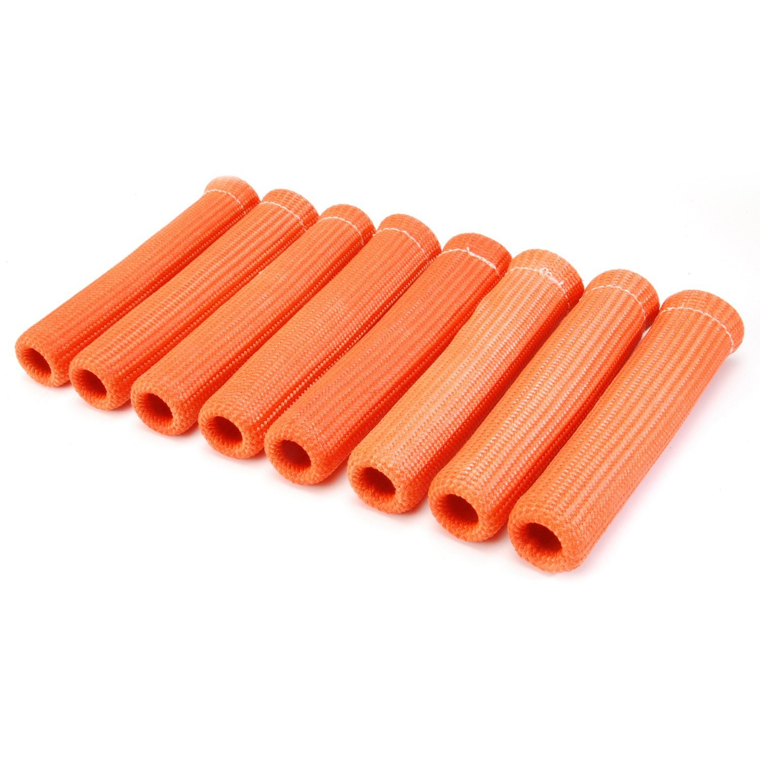 DEI 010572 Protect-A-Boots Spark Plug Boot Protector Sleeves, 8'' - Orange (Pack of 8)