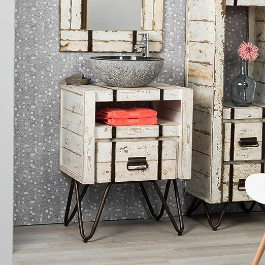 wanda collection Mueble para Cuarto de baño de Mindi 60 cm ...