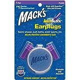 Mack's AquaBlock Earplugs - Comfortable, Waterproof, Ear Plugs for Swimming, Snorkeling and Showering