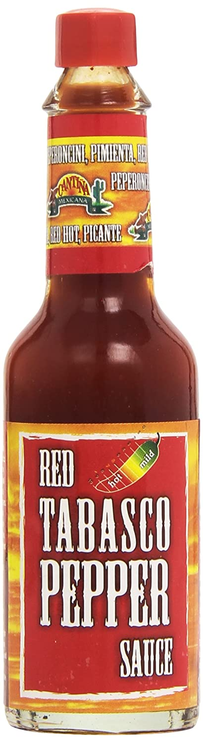 Cantiña Mexicana - Red Tabasco Pepper Souce - 60 ml: Amazon.es: Alimentación y bebidas
