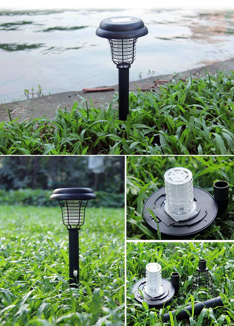 Mosquito Killer Light – Electronic Bug Insect Killer with LED Light – Solar Power Outdoor Garden Camping Protecting Lamp - Dracarys