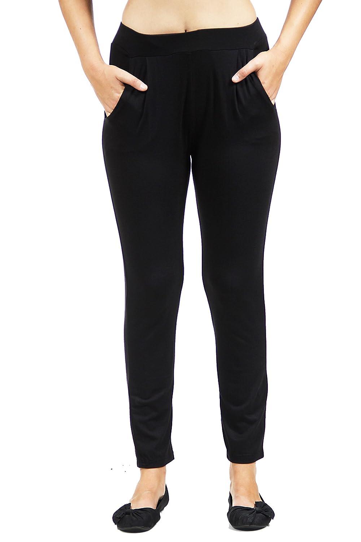 24/7 Comfort Apparel Women's 2-Pocket Straight Leg Pant CF530