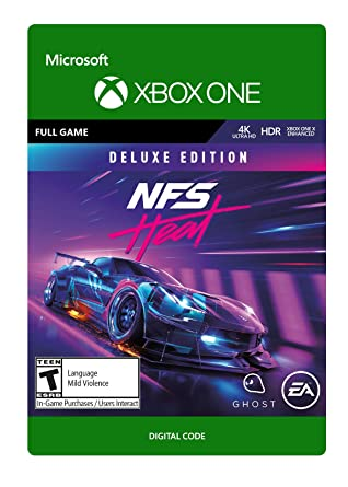 Amazon Com Need For Speed Heat Deluxe Edition Xbox One