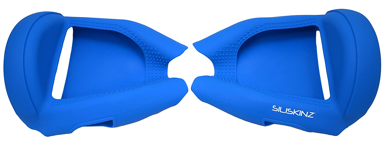 Naranja//Negro para 6.5Sleg de la Rueda de Swegway 2 SILISKINZ/® Cubierta de la Caja de la Jalea del silic/ón de Hoverboard de 360 Grados