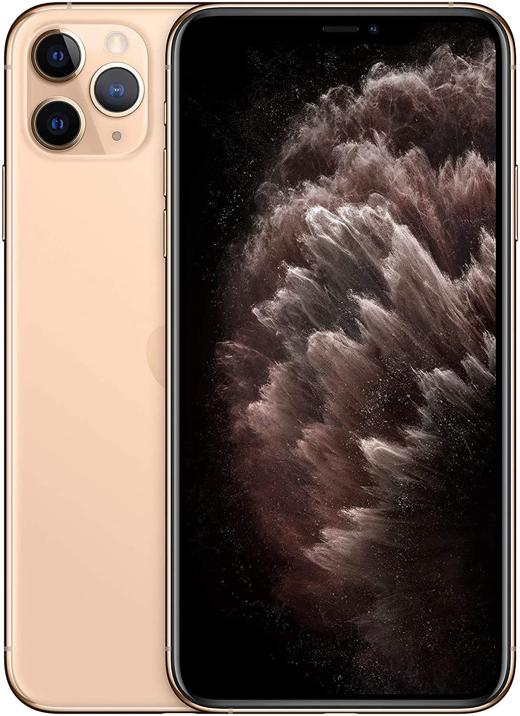 Apple iPhone 11 Pro Max (64GB, Gold) - for Verizon (Renewed)