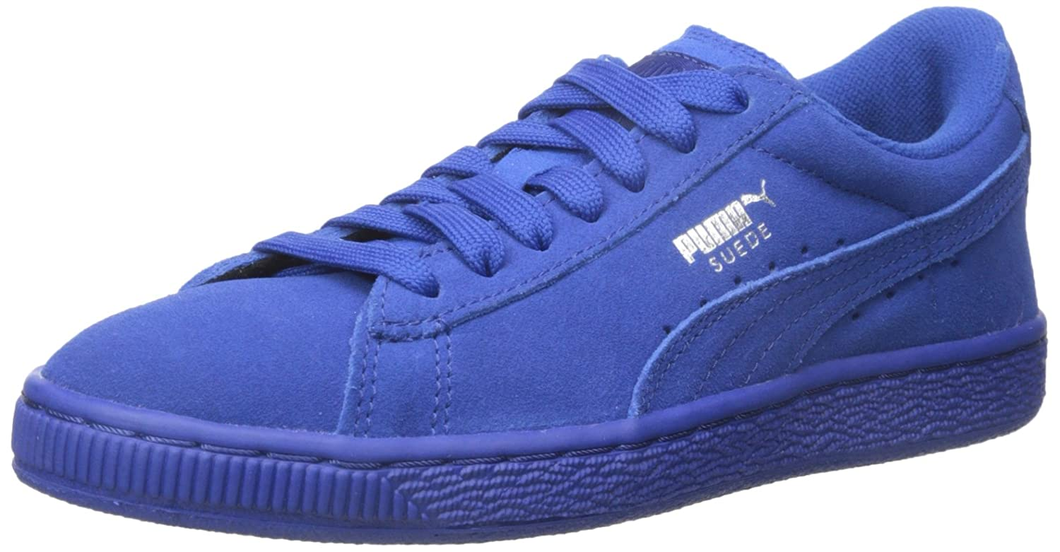 PUMA Suede JR Classic Kids Sneaker (Little Kid/Big Kid) B012ZKFREQ 5.5 M US Big Kid|Monaco Blue/Monaco Blue