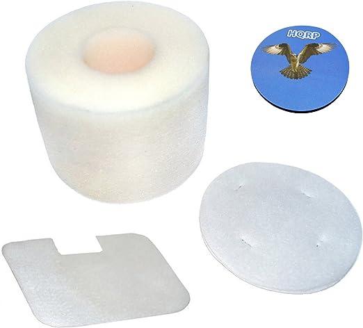 HQRP Foam and Felt Filter Kit for Shark XFF36 Navigator NV36 NV36A NV42 UV410