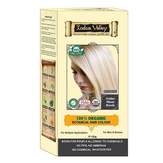 5. Indus Valley 100% Botanical Natural Hair Dye
