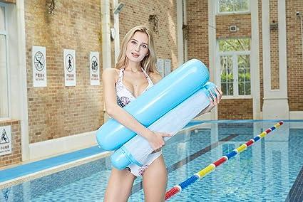 Amazon.com: W-UpBird - Hamaca inflable para piscina o playa ...