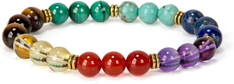 Chrysoprase A Grade Spiritual Protection Higher Consciousness Gemstone Chip Stretchy Bracelet-Stylish