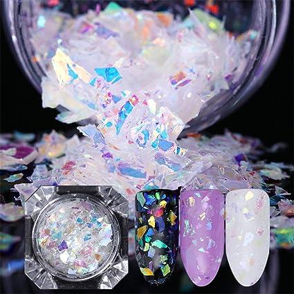 Trozos de fibra de vidrio para las uñas, de Born Pretty, irregulares