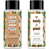 Love Beauty and Planet Purposeful Hydration Shea Butter & Sandalwood Shampoo and Conditioner Set, 13.5 Ounces each