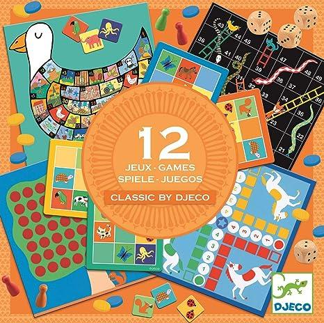 Djeco- Juegos Familiares, (15): Amazon.es: Juguetes y juegos