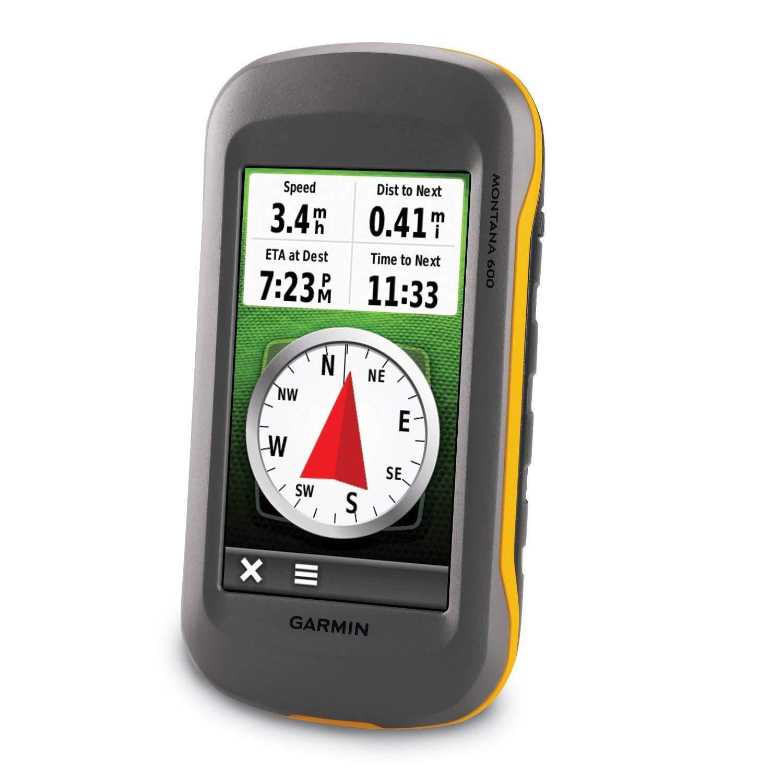 Garmin Montana 600 GPS-Gerät + Topo Deutschland 2012 Pro gesamt Freizeitkarte, auf microSD, M10-DE100-22 (Zertifiziert und Generalüberholt)
